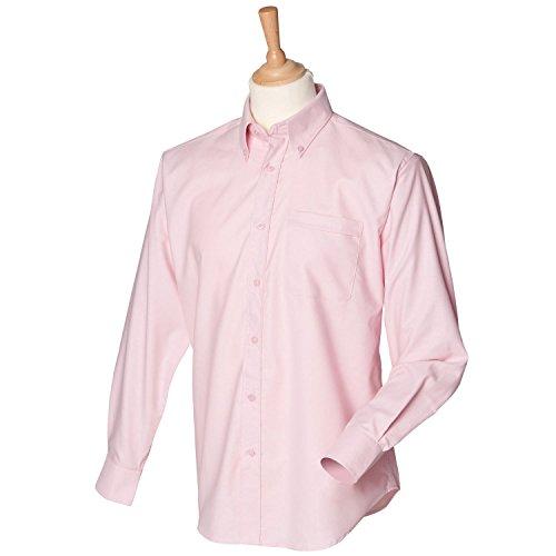 Manches Henbury Rose Pour À Étui Oxford Taille Xxl Longues Chemise Femme H510 UUq7SZIO