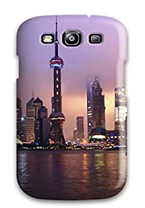 Fashion Tpu Case For Galaxy S3- Shanghai City Defender Case Cover