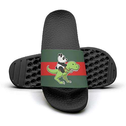 unicorn Slipper panda A Riding Slippers Mules lady Woman red Sandals and Panda 1 stripe green Y5TOqw