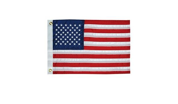 Renewed Taylor Made Products 8430 U.S 50 Star Sewn Boat Flag