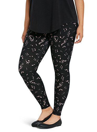Music-Note-Print-Leggings