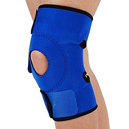 Velcro Adjustable Knee Brace for Urgent Use - Top Grade For Medical Use (1 Brace) by One & Only USA (Walmart Beactive Brace)