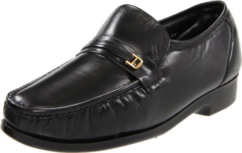 Florsheim Men's Riva Slip-On,Black,12 EEEEE (Footwear Brandy Leather)