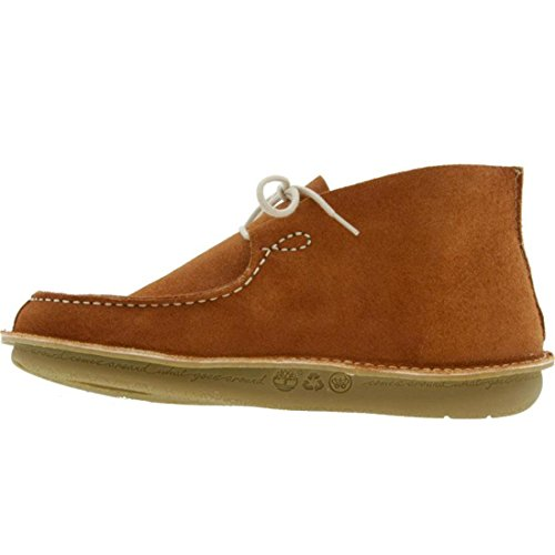Timberland Pozu Moc Teen Chukka (roest Suede Bruin)