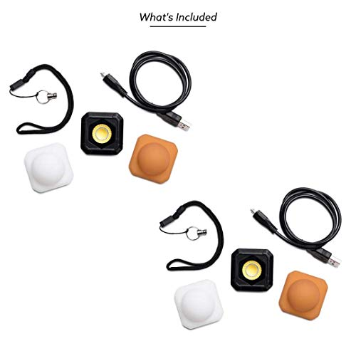 Lume Cube AIR - LED Light for Photo, Video, and Content Creation - Portable, Durable, Waterproof (Two Pack) by LUME CUBE (Image #3)