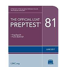 The Official LSAT PrepTest 81 (Official LSAT PrepTests)