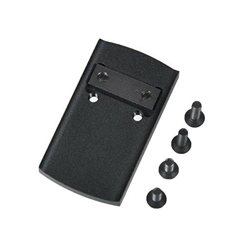 LONJN Glock Red Dot Mount - Glock 17 22 23 24 29 30 32 35 36 41 Mounting Plate for Vortex Venom Viper Burris Fastfire III Sightmark Mini Red Dot Sight