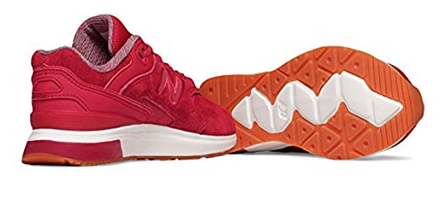 New Balance Grade School 1550 Suede Shoes Size 6 M US Big Kid Color Red
