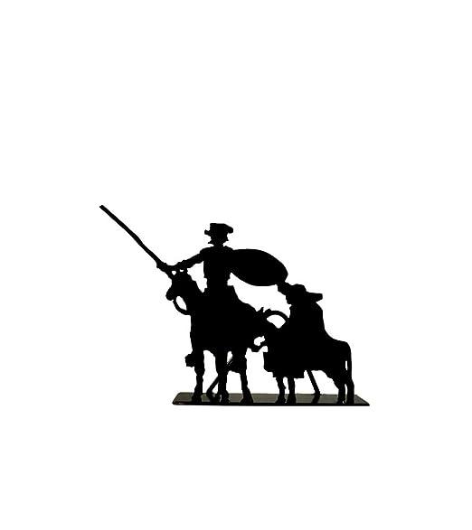 ZINGS Silueta de Hierro de Don Quijote y Sancho: Amazon.es: Hogar