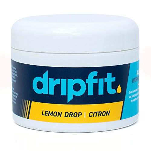 (Drip Fit® Cream (8oz) - 100% Natural Sweat Intensifier (Lemon))