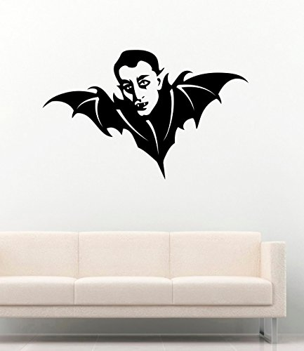 FSDS Vinyl Wall Decal - Halloween Silhouette Bat