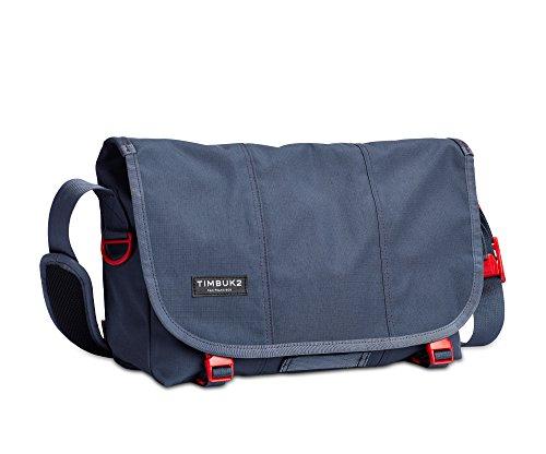 Timbuk2 Flight Classic Messenger Bag, Granite/Flame, S, Granite/Flame, Small