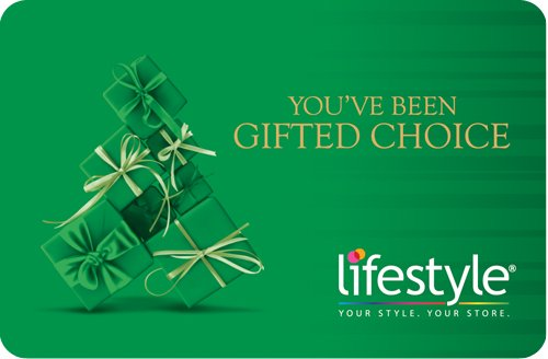 Flat 5% off||Lifestyle Gift Card