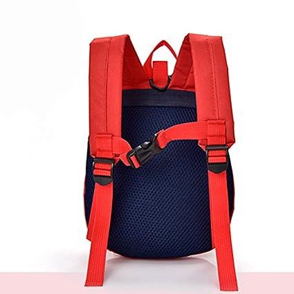 Zhhlaixing Cute Zaino scolastico Designer Kindergarten Anti-lost Children Bags School Backpack