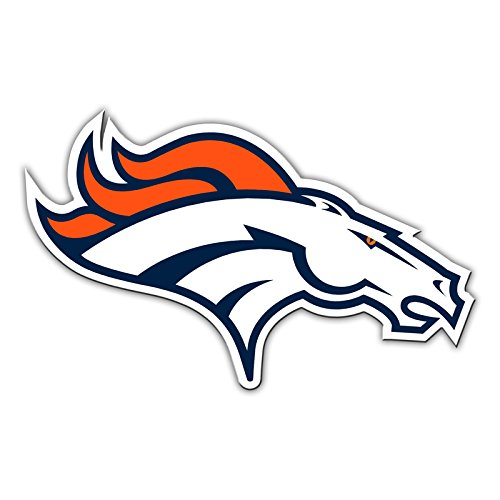 denver broncos metal car emblem - 4