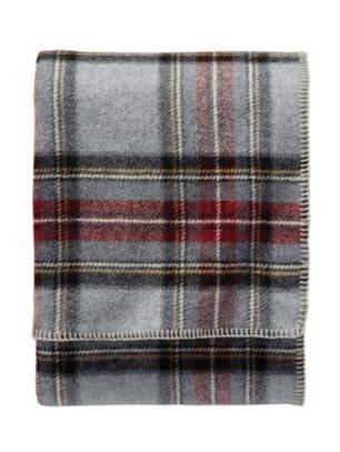 (Pendleton - Eco-Wise Washable Wool Blanket, Grey Stewart,)