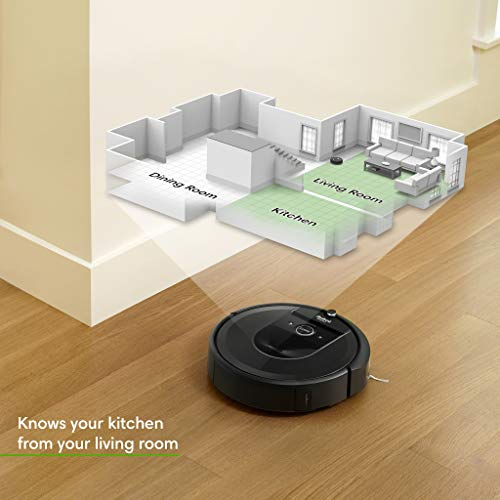 Irobot Roomba I7 7550 Robot Vacuum With Automatic Dirt