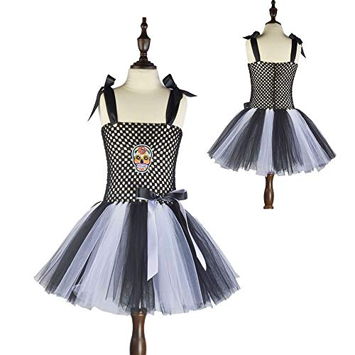 AMSKY Baby Clothes Boy 0-3 Months Grandma,Toddler Kids Baby Girls Infant Halloween Tutu Dress Party Print Clothes,Gray,130 -