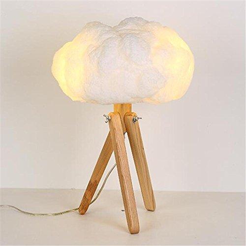 Moderna lámpara de Escritorio del trípode Dormitorio ...