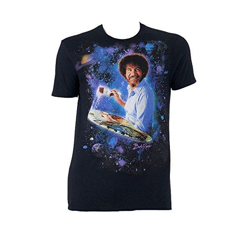 mens-bob-ross-painting-galaxy-cotton-crewneck-t-shirt-xx-large-black