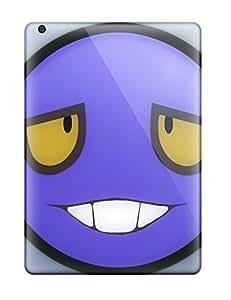 New Premium Flip Case Cover Goofy Smiley Skin Case For Ipad Air