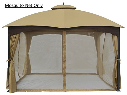 Mosquito Gazebo Netting Panels for tent Canopy Outdoor Easy Pop 4 wall 10u0027 x 12  sc 1 st  eBay & Mosquito Gazebo Netting Panels for tent Canopy Outdoor Easy Pop 4 ...