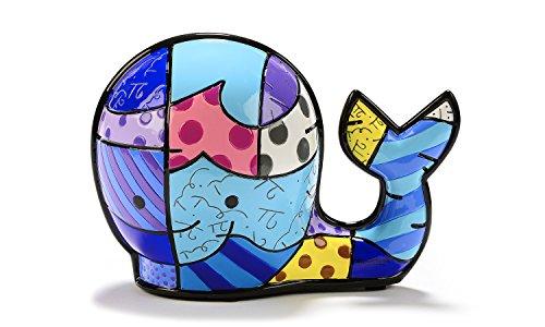 Gift Craft Romero Britto Marina Miniature Collectible - Brendan's Whale