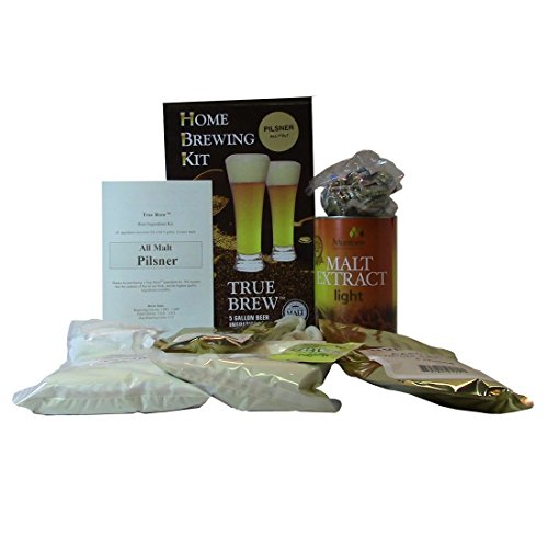 True Brew 6120897 Pilsner Home Beer Ingredient Kit By Monster Brewing Supplies