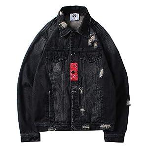 Men's Hipster Washed Denim Jacket