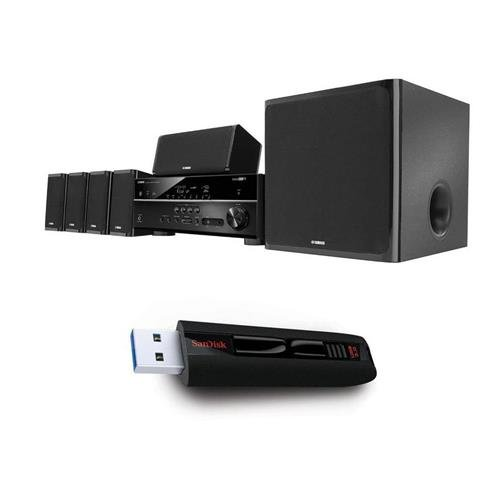 yamaha-yht-5920ubl-51-channel-home-theater-in-a-box-system-with-sandisk-64gb-cruzer-extreme-usb-30-f