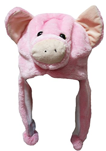 - Petitebella Animal Costume Pink Pig Hat Unisex Clothing Free Size (One Size)