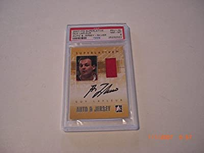 Guy Lafleur In The Game Itg Superlative Game Used Jersey Auto Signed Card - PSA/DNA Certified - Autographed Hockey Cards
