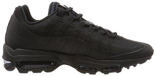 Nike Air Max 95 Ultra Essential, Scarpe da Ginnastica Uomo Nero (Black/Black-black)