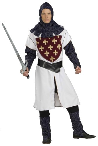 Knight Of The Round Table Adult Costumes (Forum Deluxe Designer Collection Sir Lancelot Du Lac Costume, Multi, X-Large)