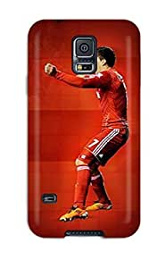 Awesome Luis Suarez Flip Case With Fashion Design For Galaxy S5