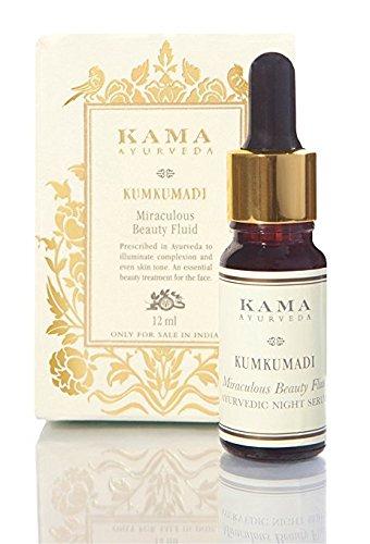 Kama Ayurveda Kumkumadi Miraculous Beauty Ayurvedic Night Serum, 0.40 Fl Oz (Best Ayurvedic Beauty Products)
