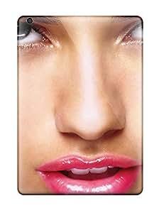 Best Premium Durable Adriana Lima Pretty Lips Fashion Tpu Ipad Air Protective Case Cover
