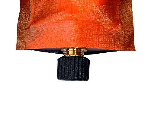 70x18cm EXPLORER Thermomatte selbstaufblasende 200x66x6,0cm rutschfest Messingventil Packsack *kein aufblasen notwendig* Camping Liege Isomatte Outdoor Wandern