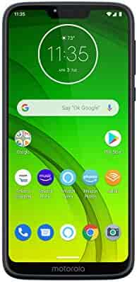 Moto G7 Power with Alexa Push-to-Talk – Unlocked – 32 GB – Marine Blue
