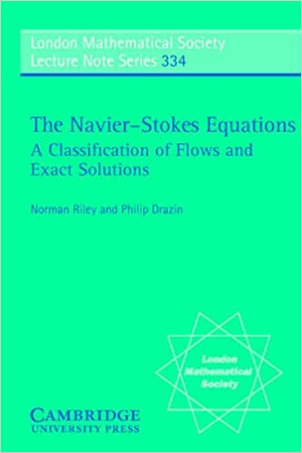The Navier-Stokes Equations: A Classification of Flows and