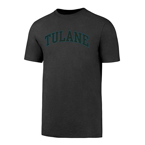 (NCAA Tulane Green Wave Men's OTS Rival Tee, Charcoal, Medium )