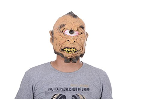 DEESEE® Halloween mask Bloody Face Off Horror Halloween Cosplay Party Masks (Realistic Halloween Masks)