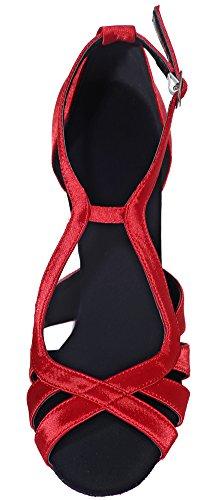 Salon femme Rouge de Danse Red CFP SqT488