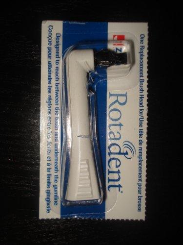 Rotadent Replacment Brush Black pointed