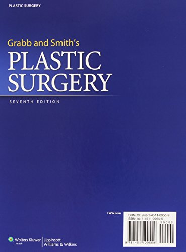 Grabb and Smith's Plastic Surgery (GRABB'S PLASTIC SURGERY)
