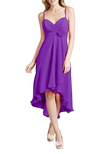 Dresses Amore Purple Bridesmaid Evening Bridal Chiffon Gowns Women's Prom Long Dress YqArYvw