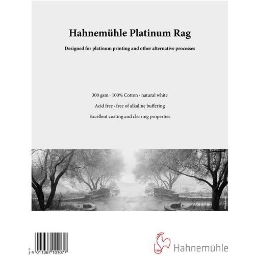 Hahnemühle Platinum Rag Fine Art Paper (22 x 30'', 25 Sheets) by Hahnemühle USA