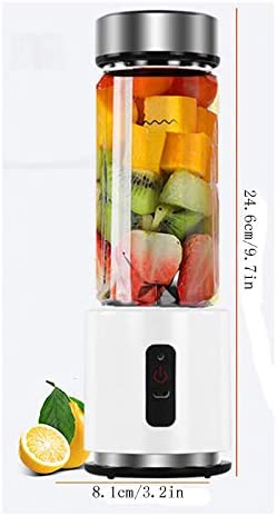 Blender Portable personnel, smoothie Blender, tasse de jus USB Aliments for bébés Mélange machince, for Smoothie Et Shakes, sans BPA xuwuhz
