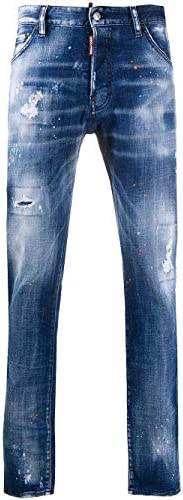 DSQUARED2 Luxury Fashion Herren S74LB0798S30342470 Blau Baumwolle Jeans | Herbst Winter 20