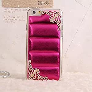 PG Luxury Lace Series TPU Soft Case for iPhone 6 Plus(Golden)